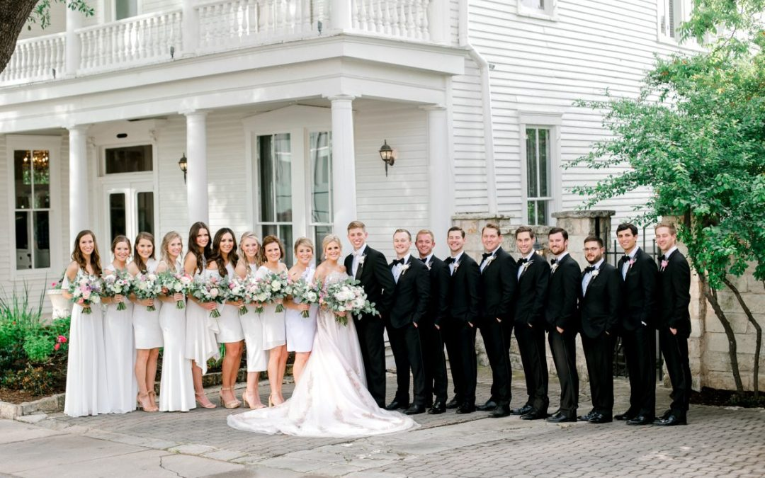 The Allan House - historic venues of Austin for weddings. Photo by Emelie Anne Photography