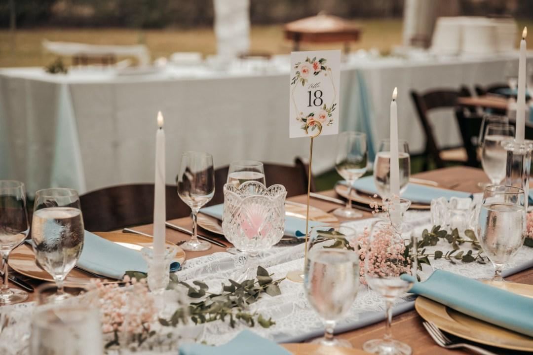kate + matt guest table