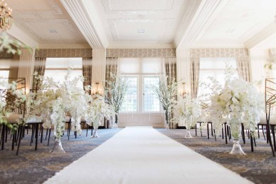 Flora Nova Design Seattle - Orchid Wedding at the Rainier Club