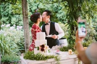 Flora Nova Design Seattle -Romantic DeLille Cellars Wedding. Dessert Buffet, Wedding Cake