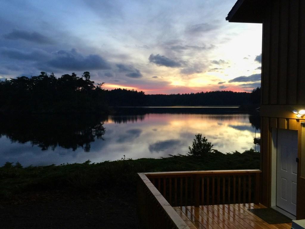 Sunset at Floras Lake