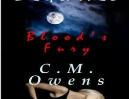 Book cover for Deadly Beauties 1 - Blood's Fury by CM Owen