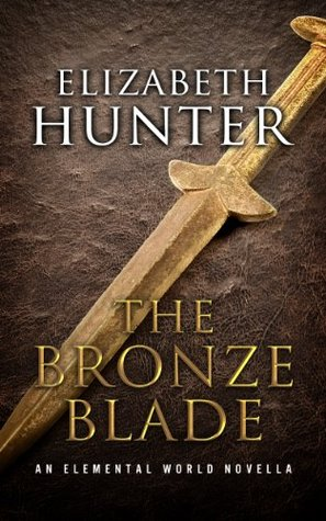 book cover for Elemental World 2.5 - The Bronze Blade by Elizabeth Hunter