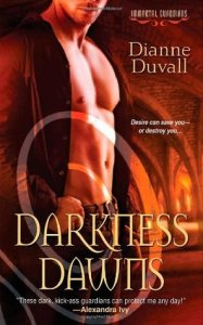 book cover for Darkness Dawns (Immortal Guardians #1) by Dianne Duvall