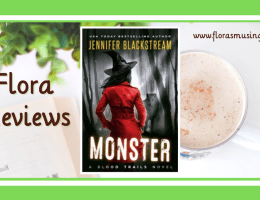 ARC Featured Image - Blood Trails 2 - Monster by Jennifer Blackstream