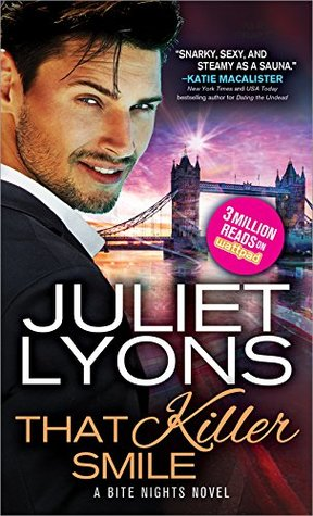 book cover for Bite Nights 3 - That Killer Smile by Juliet Lyons