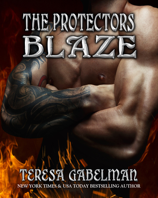 book cover for The Protectors 10 - Blaze by Teresa Gabelman