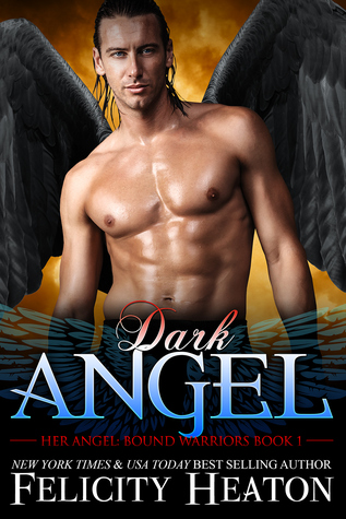 book cover for Her Angel: Bound Warriors 1 - Dark Angel by Felicity Heaton