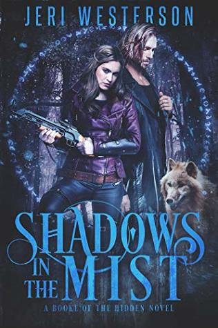 book cover for Booke of the Hidden book 3 - Shadows in the Mist by Jeri Westerson