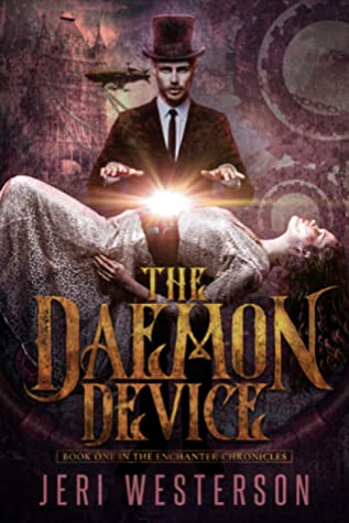 book cover for The Enchanter Chronicles book 1 - The Daemon Device by Jeri Westerson