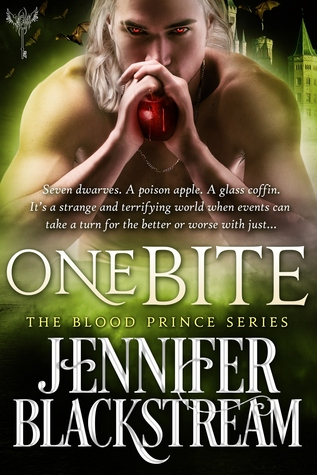 book cover for Blood Prince 2 - One Bite by Jennifer Blackstream