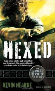 book cover for Hexed (The Iron Druid Chronicles #2) by Kevin Hearne