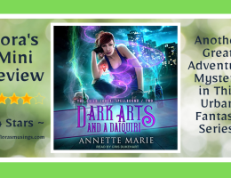 Featured Image - The Guild Codex Spellbound 2 - Dark Arts and a Daiquiri by Annette Marie - Narrated By Cris Dukehart