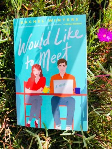 blogger image of comedy romance Would Like To Meet by Rachel Winters