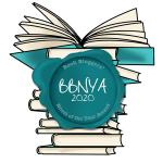 BBNYA 2020 logo with books