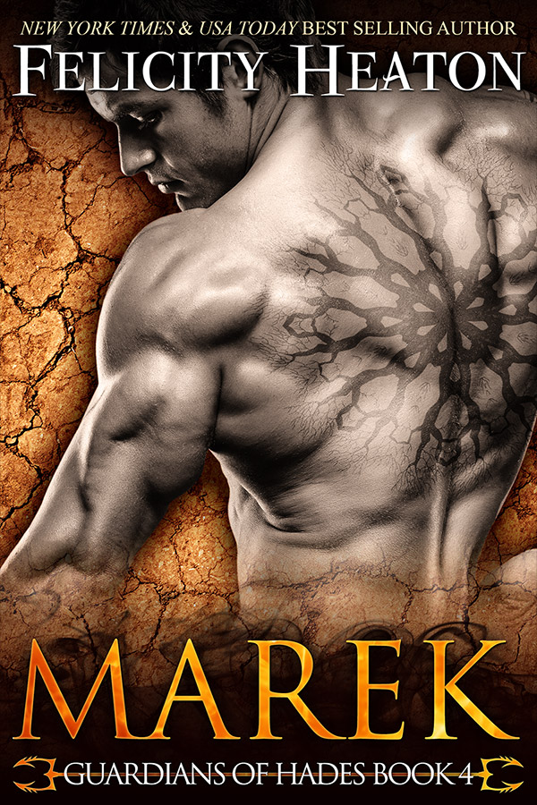book cover for Marek (Guardians of Hades #4) by Felicity Heaton