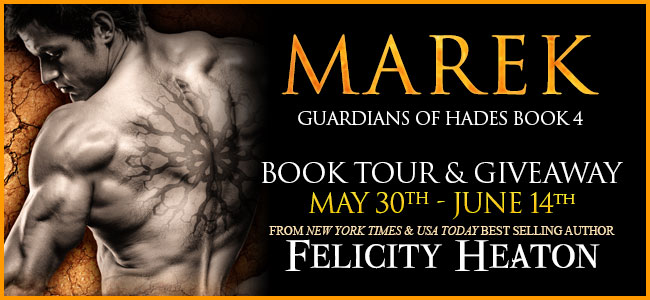 Marek by Felicity Heaton - Blog Tour - Post Graphic