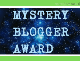 Mystery Blogger Award image for Flora's Musings