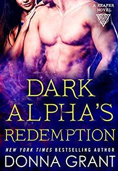 book cover for Reapers book 8 Dark Alpha's Redemption by Donna Grant