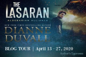 The Lasaran (Albebarian Alliance #1) by Dianne Duvall - Blog Tour organised by Author's Taproom (graphic 1)