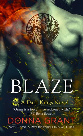 book cover for Dark Kings 11 - Blaze by Donna Grant