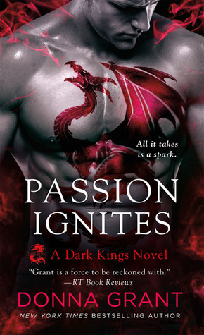 book cover for Dark Kings 7 - Passion Ignites by Donna Grant