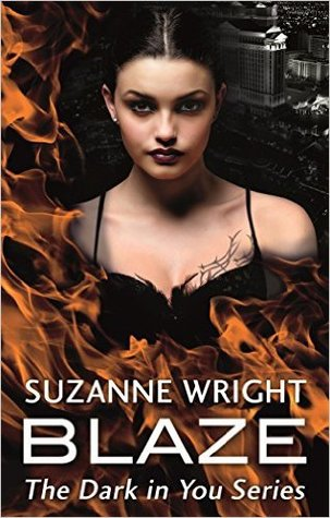 book cover for Dark in You book 2 - Blaze by Suzanne Wright