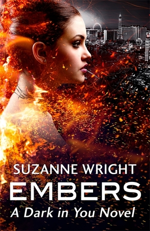 book cover for Dark in You book 4 - Embers by Suzanne Wright