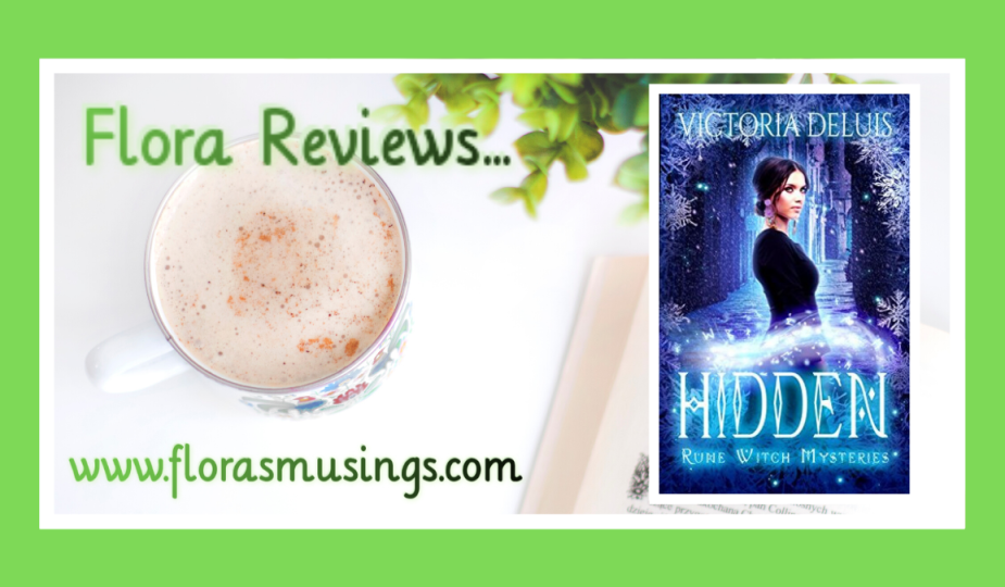 Featured image for ARC Review about Rune Witch Mysteries book 2 - Hidden by Victoria DeLuis