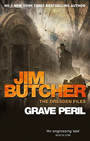 book cover for The Dresden Files book 3 - Grave Peril by Jim Butcher