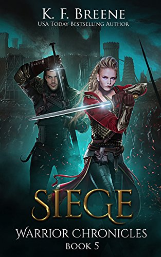 book cover for Warrior Chronicles book 5 - Siege by K.F. Breene