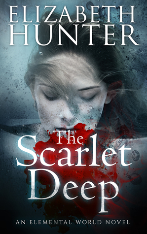 book cover for Elemental World 3 - The Scarlet Deep by Elizabeth Hunter