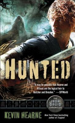 book cover for The Iron Druid Chronicles 6 - Hunted by Kevin Hearne