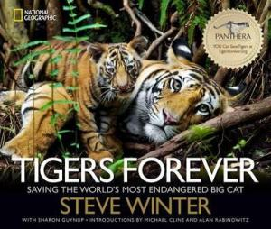 book cover for Tigers Forever by Steve Winter - The Book Depository