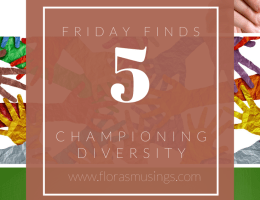 Pinterest Graphic for Friday Finds - Championing Diversity