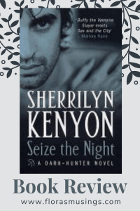 Pinterest Pin - Book Review - Hunter Legends 9 - Seize the Night by Sherrilyn Kenyon (1)