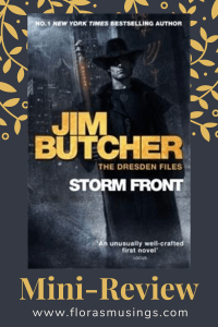 Pinterest Pin - Mini-Review - The Dresden Files 1 - Storm Front by Jim Butcher (2)