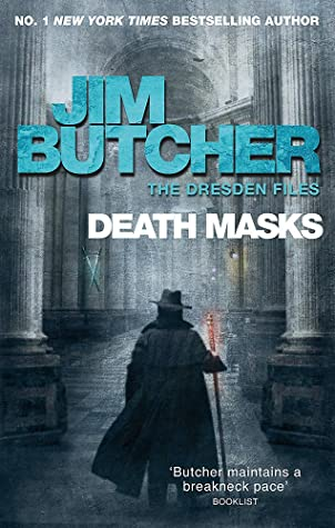 Book cover for The Dresden Files 5 - Death Masks by Jim Butcher