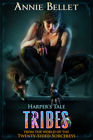 book cover for Twenty-Sided Sorceress 7.5 - Harper's Tale: Tribes by Annie Bellet