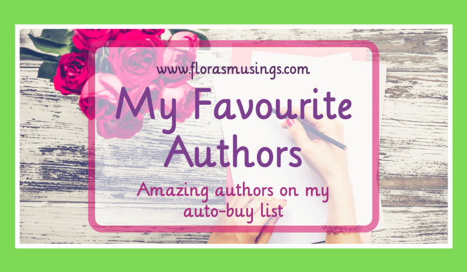 Featured Image - My Favourite Authors