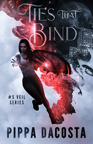 book cover for The Veil 5 - Ties That Bind by Pippa DaCosta