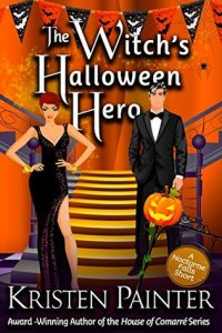 book cover for Nocturne Falls 4.5 - The Witch's Halloween Hero by Kristen Painter