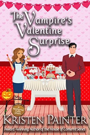book cover for Nocturne Falls 5.5 - The Vampire's Valentine Surprise by Kristen Painter