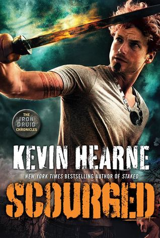 book cover for The Iron Druid Chronicles 9 - Scourged by Kevin Hearne