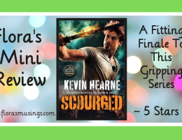 Featured Image - Iron Druid Chronicles 9 - Scourged by Kevin Hearne - Narrated by Christopher Ragland