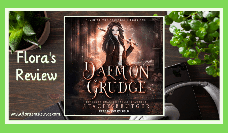 ALC Featured Image - Clash Of The Demigods 1 - Daemon Grudge by Stacey Brutger - Narrated by Eva Wilhelm