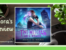 ALC Featured Image - The Guild Codex: Spellbound 3 - Two Witches and a Whiskey by Annette Marie - Narrated by Cris Dukehart