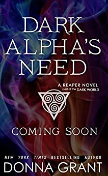 book cover for Reaper 12 - Dark Alpha's Need by Donna Grant