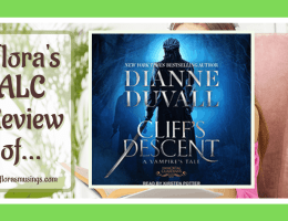 ALC Featured Image - Immortal Guardians 11 - Cliff's Descent A Vampire's Tale by Dianne Duvall - Read by Kirsten Potter