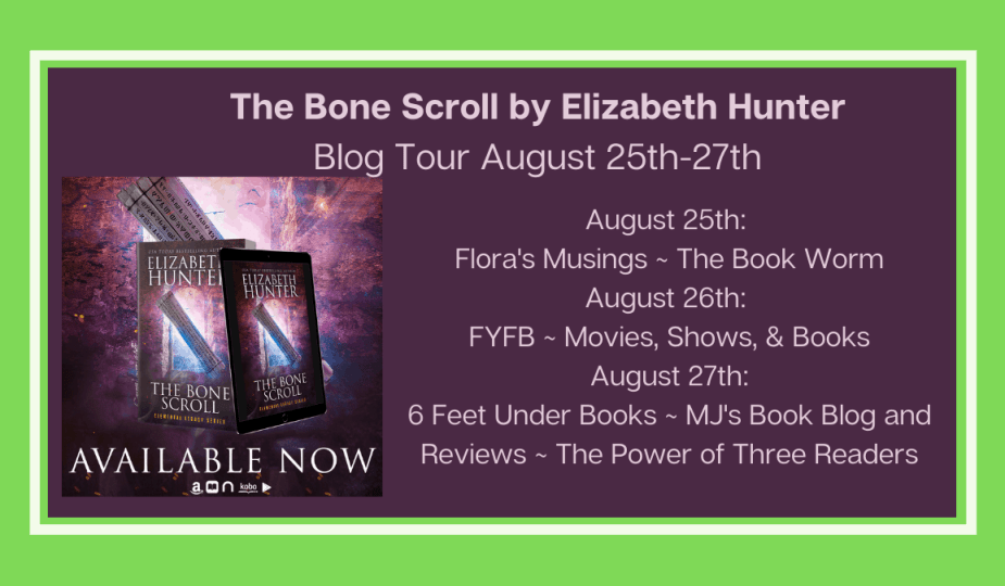 Featured Image - Blog Tour for The Bone Scroll